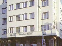 Rekonstrukce ČESKÉ SPOŘITELNY, Praha 3