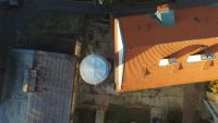 Odstranění havarijního stavu komínu výšky 28 metru, ČVUT Karlovo náměstí 13, Praha 2
